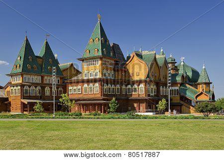Wooden palace of Tsar Alexei Mikhailovich Romanov