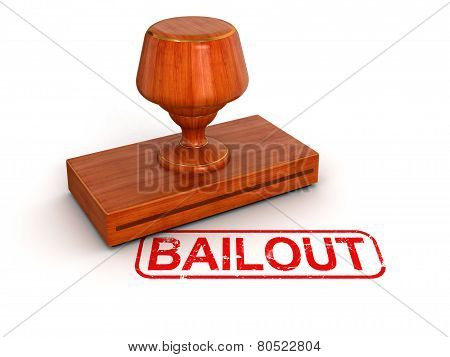 Rubber Stamp bailout (clipping path included)