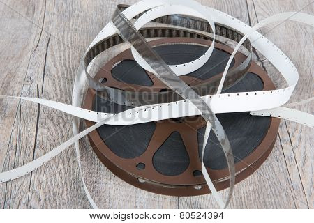 Old Movie Film Reel 16Mm