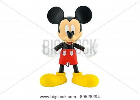 Mickey Mouse Action Figure.