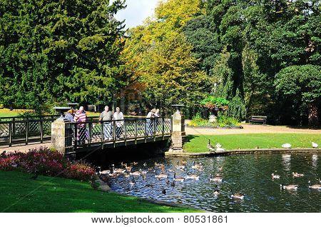 Pavilion Gardens, Buxton.