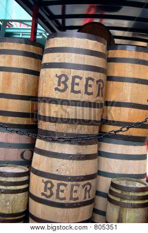 Old Beer Barrels
