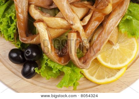 A Composition With Smoked Salmon Bellies