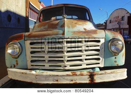 An Old Rusted Studebaker Truck, Lowell, Arizona