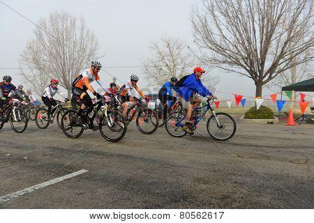Cycling Race Start