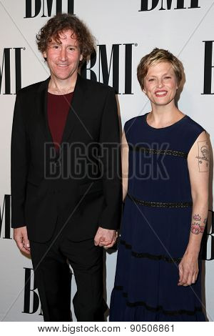 LOS ANGELES - MAY 12:  Steve Tannen, Deb Talan, The Weepies at the BMI Pop Music Awards at the Beverly Wilshire Hotel on May 12, 2015 in Beverly Hills, CA