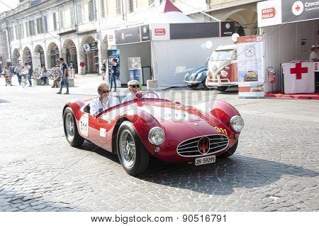 famous race retro cars Mille Miglia