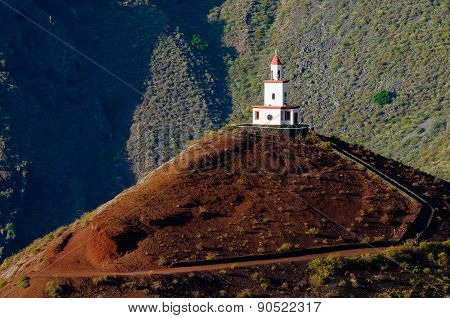 Church of Candelaria.The island of El Hierro.Frontera. Canary Islands