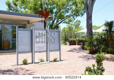Entrance To Maggie Beers, Pheasant Farm Restaurant, Convention And Function Centre At Barossa Valley
