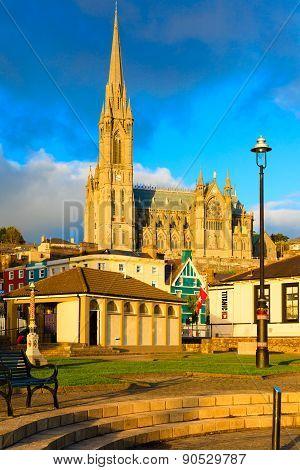 Cobh, Ireland - November 26 : St. Coleman's Cathedral On November 26, 2012 In Cobh Ireland