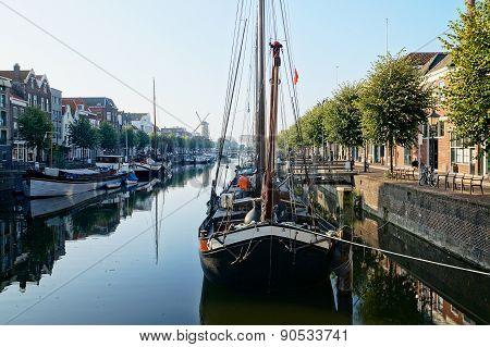 Rotterdam historic quarter Delfshaven