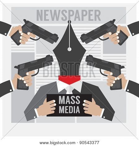 Mass Media Is The Hostage.