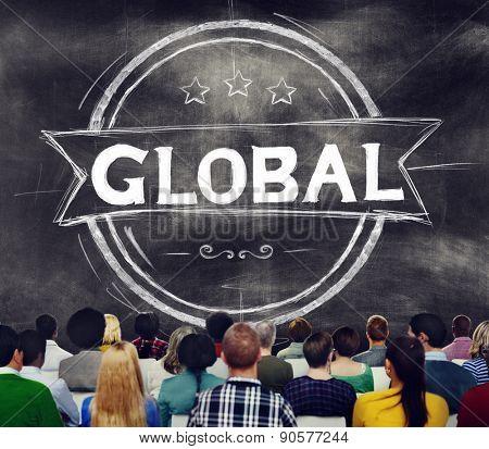 Global Globalization Community Communication Concept