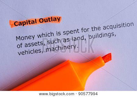 Capital Outlay