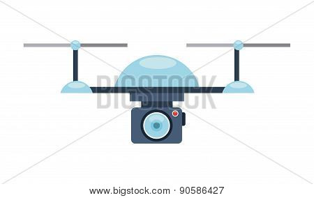 drone technology design, vector illustration eps10 graphic poster