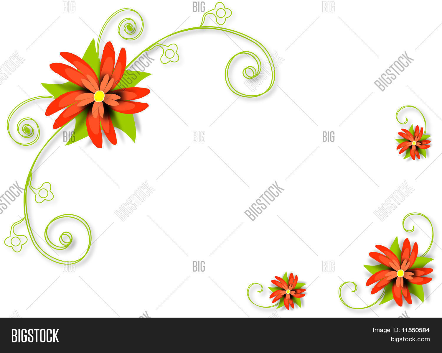 Abstract Spring Vector Photo Free Trial Bigstock