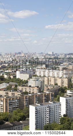 Urban Landscape Moscow Sokolniki District