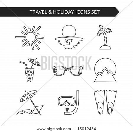 Travel & holiday icon