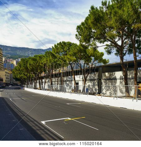 Starting Grid Asphalt Monaco Race Grand Prix Circuit