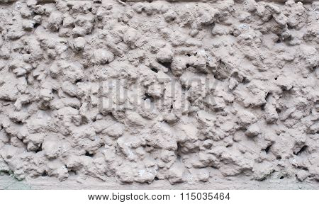 White Grey Dotted Minimalistic Photo Texture With Rough Surface. Simple Website Background, Or Corpo