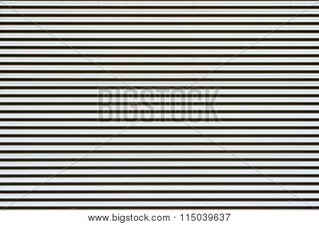Shiny Corrugated Metal Background