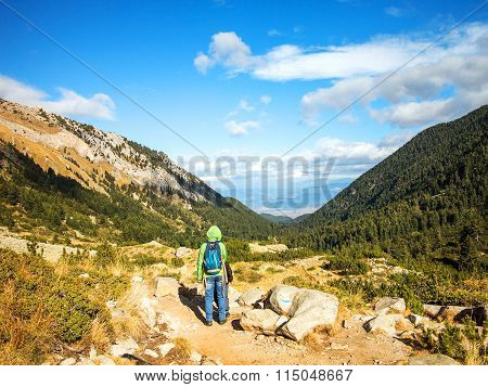 Bansko, Bulgaria - November 15, 2015: Autumn Scenery In The Mountain Resort Of Bansko, Bulgaria, Nov