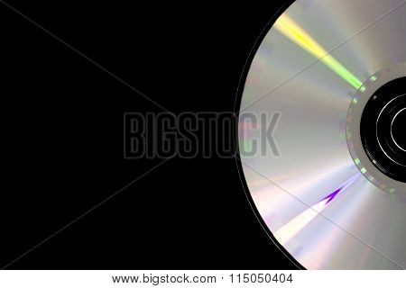 Part Of Cd Disk