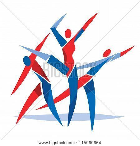 Modern Dancing Fitness Dancer