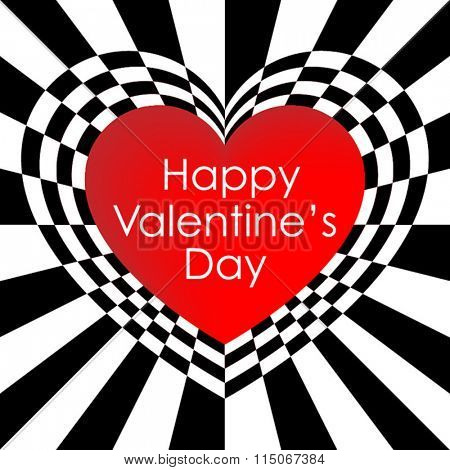 Valentines day card background vector illustration for publication and printing