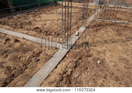 Beam And Pillar Of Building Construction
