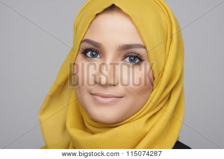 Fashionable Muslimah Woman