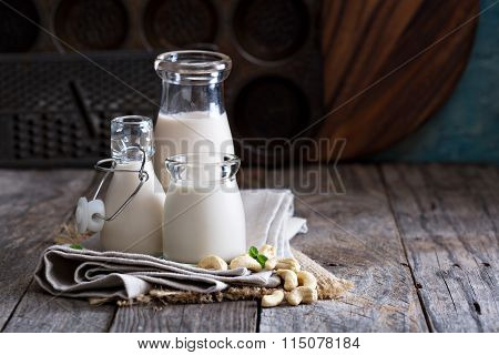 Cashew nut vegan milk