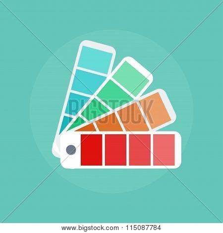 Color Swatch Illustration