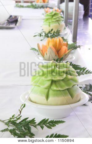 Sculptured Melons