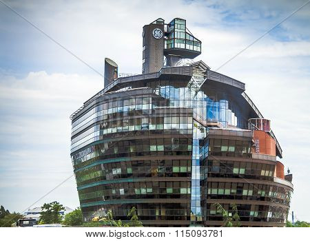 Modern Office Building In Hammersmith, London