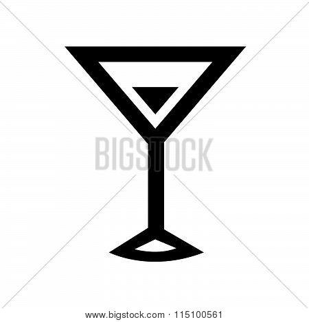 Beverage Icons vector design black color support eps10.