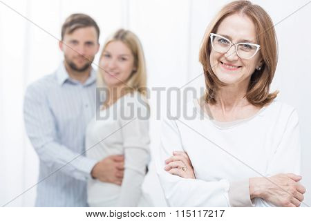 Pair After Successful Marital Therapy