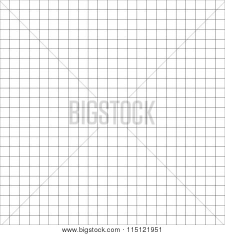 Grid, Mesh, Graph Paper (millimeter Paper) Background. Repeatable.