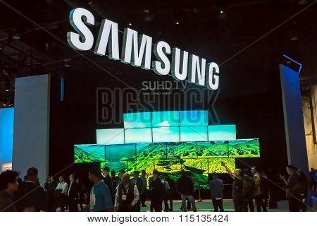 Samsung CES 2016 Exhibit