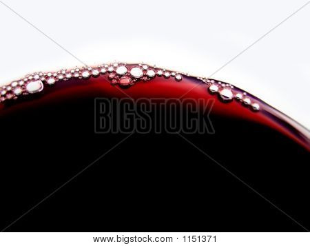 Red Wine Bubbles