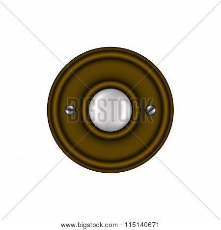 Doorbell in vintage design