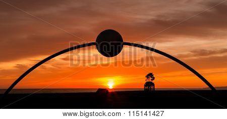 Millennial Arch Sunrise Napier