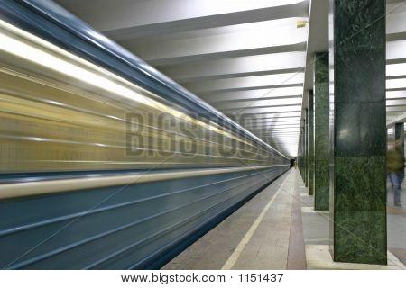 Train. Subway Station