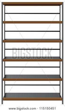 Industrial Shelving, With Steel Shelves