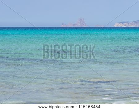 Ibiza Islands From The Distance