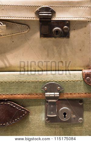 Tatty Suitcases