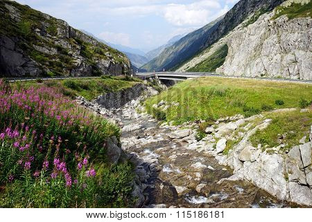Highway And River