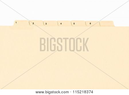 File Folder Vintage