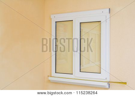 Pvc Plastic Window On The Wall