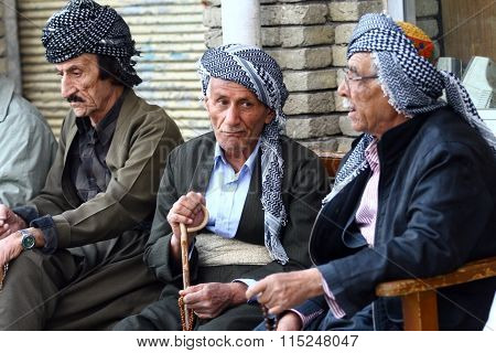 Old Kurdish Mans